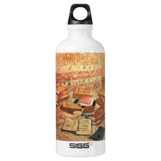 French novels, and glass Rose by Van Gogh SIGG Traveler 0.6L Water Bottle