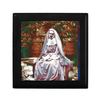 French Nun in the Garden of Contemplation Gift Box