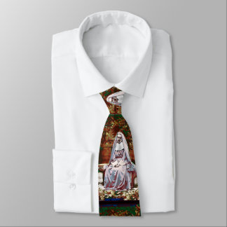 French Nun in the Garden of Contemplation Tie