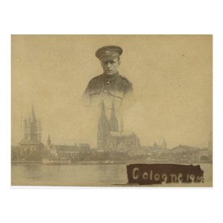French Occupation Army Cologne 1919 Postcard