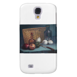 French Onion Basket and Vase Still Life Samsung Galaxy S4 Cover