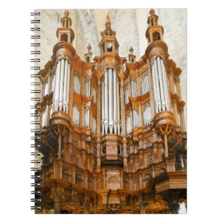 French organ notebook