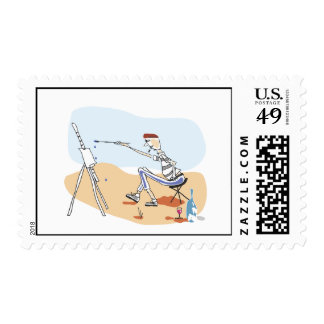 French Painter Postage