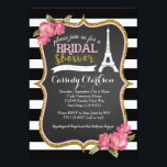 """French Paris Bridal Shower invitation<br><div class=""""desc"""">matching party items available,  email seasidepapercompany@gmail.com</div>"""