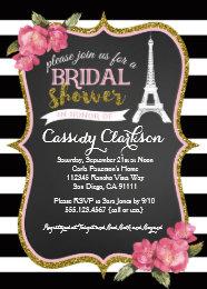 Paris bridal shower invitations announcements zazzle french paris bridal shower invitation filmwisefo Choice Image