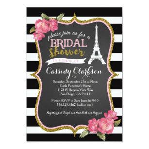 Paris Invitations Zazzle
