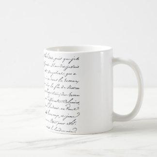French Paris Script Classic White Coffee Mug