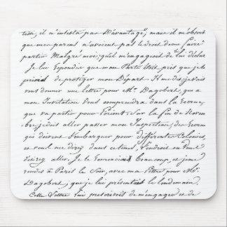 French Paris Script Mousepads
