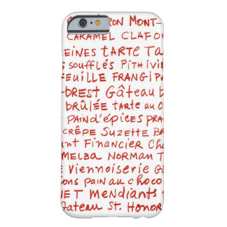french pastries phone barely there iPhone 6 case