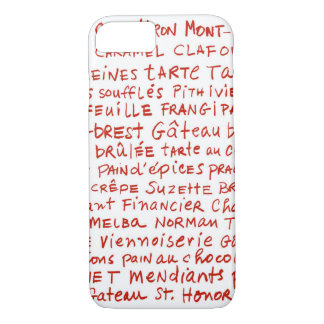 french pastries phone iPhone 8/7 case