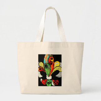 FRENCH PATCHWORK LARGE TOTE BAG