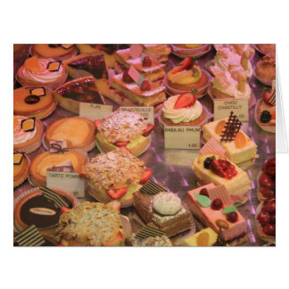 French Patisserie Card