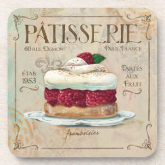 French Patisserie Coaster Home Decor