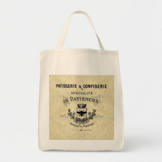 French Patisserie Grocery Tote