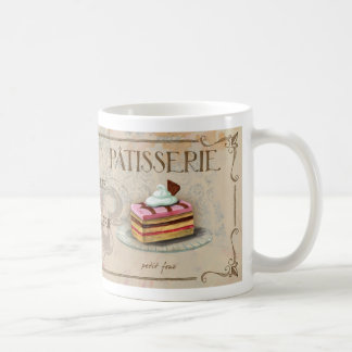 French Patisserie Illustrated Mug