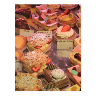 French Patisserie Postcard