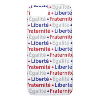 French Patriot's Liberty Equality Fraternity Moto iPhone 7 Case