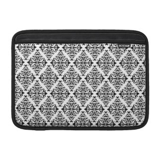 French Pattern in Black & White Sleeve For MacBook Air