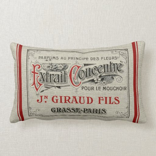 French Perfume Pillow