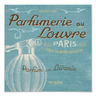 French Perfume Poster