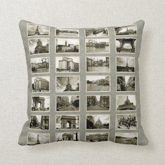 French Photo Collage Pillows