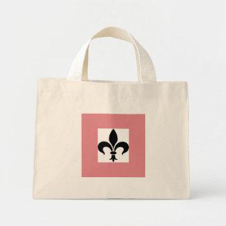 French Pink Fleur de Lis Tote Bag