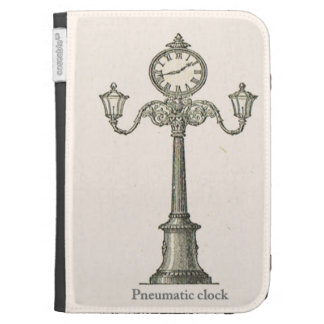 French Pneumatic clock 1900 Kindle Keyboard Cases