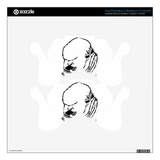 French poet Paul Verlaine by Felix Vallotton PS3 Controller Skins