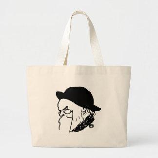 French poet Paul Verlaine from Le Livre des masque Large Tote Bag