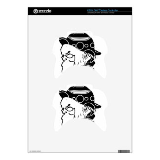French poet Paul Verlaine from Le Livre des masque Xbox 360 Controller Skin