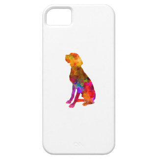 French Pointer in watercolor Funda Para iPhone SE/5/5s