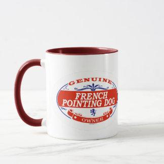 French Pointing Dog  Mug