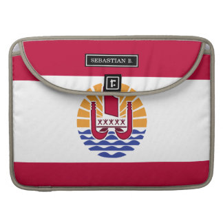 French Polenysia flag Sleeves For MacBook Pro
