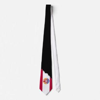 French Polenysia flag Tie