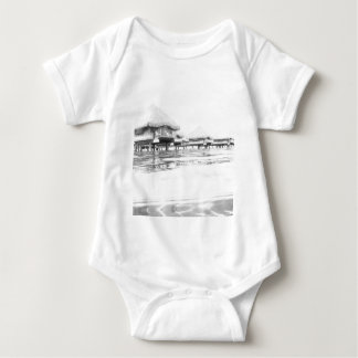 French Polynesia Baby Bodysuit