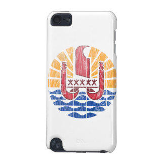 French Polynesia Coat Of Arms iPod Touch (5th Generation) Case