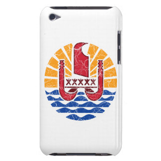 French Polynesia Coat Of Arms Barely There iPod Cases