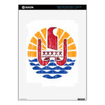French Polynesia Coat Of Arms Decals For iPad 3