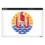 French Polynesia Coat Of Arms Decals For Laptops