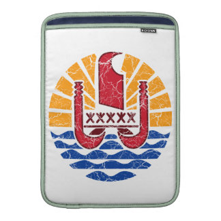 French Polynesia Coat Of Arms MacBook Sleeve