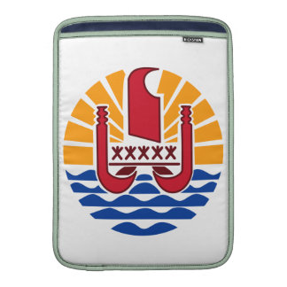 French Polynesia Coat Of Arms MacBook Sleeves