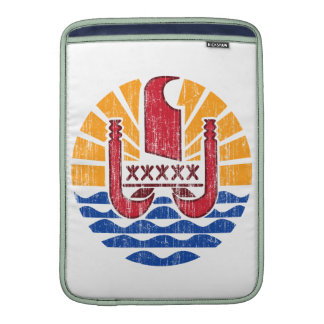 French Polynesia Coat Of Arms Sleeve For MacBook Air