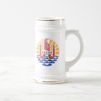 French Polynesia Coat Of Arms Mugs