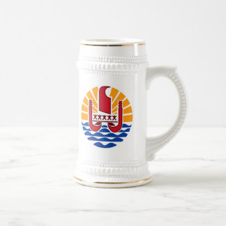 French Polynesia Coat Of Arms Coffee Mugs