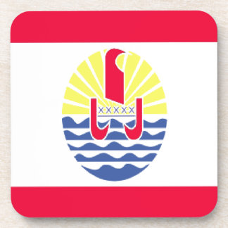 FRENCH POLYNESIA DRINK COASTER