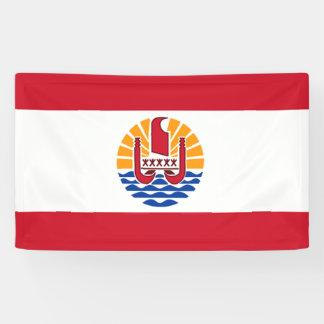 French Polynesia Flag Banner