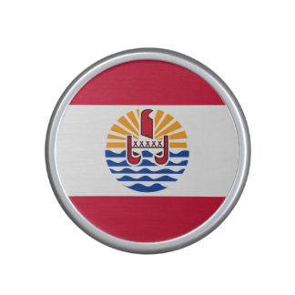 French Polynesia Flag Bluetooth Speaker