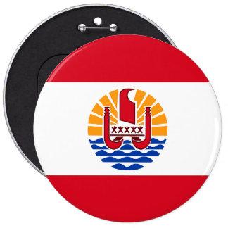 French Polynesia, flag Button
