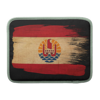French Polynesia Flag MacBook Sleeves