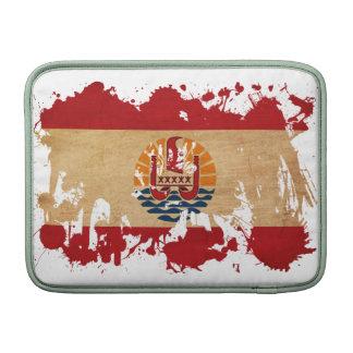 French Polynesia Flag MacBook Sleeve